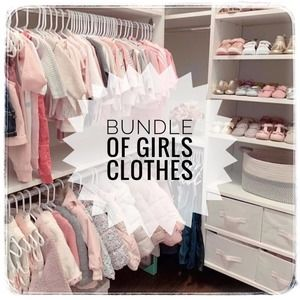 MYSTERY BUNDLE of Fall/Winter Girls Clothes M 7/8